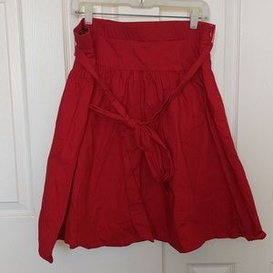 Red skirt w/ pockets!